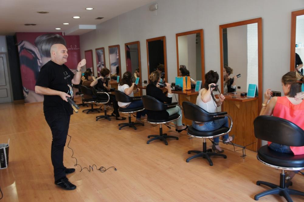 Sesión de peluquería con Boris Soler (2/6)