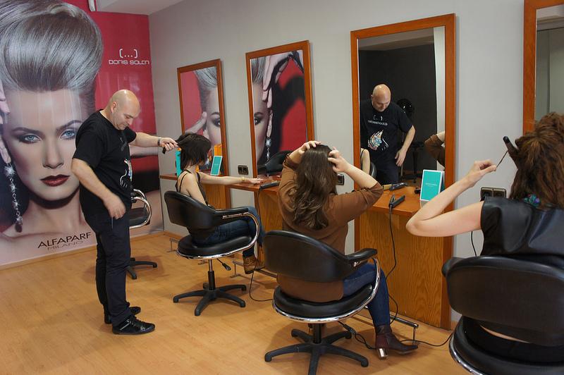 Sesión de peluquería con Boris Soler (4/6)