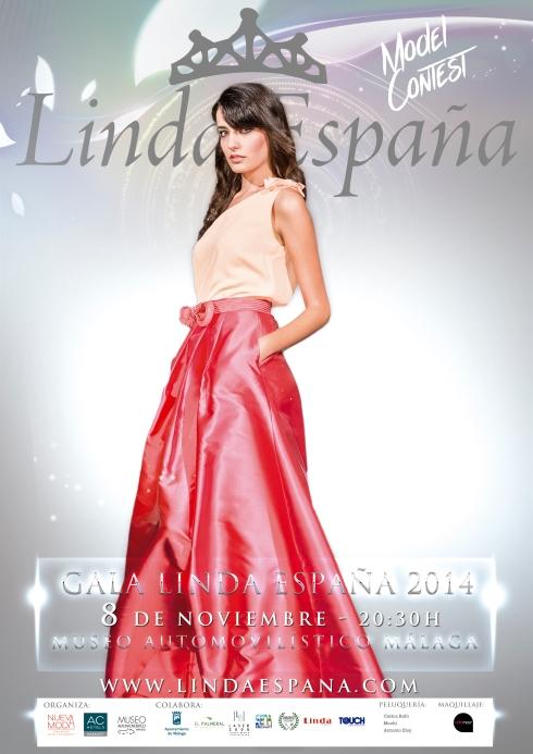 Cartel Linda Espana 2014 RGB