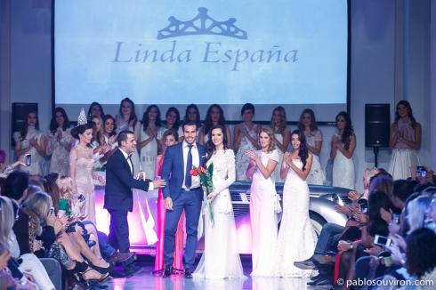 Linda España 2014 junto a Daniel Rivero